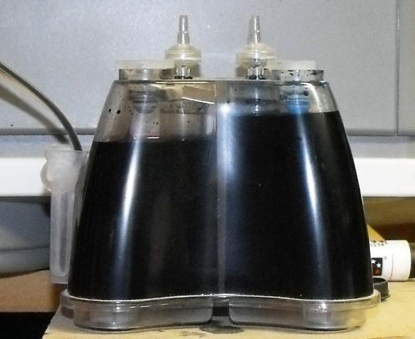 Ciss Ink Expanding Through Tube And Up To Air Filters