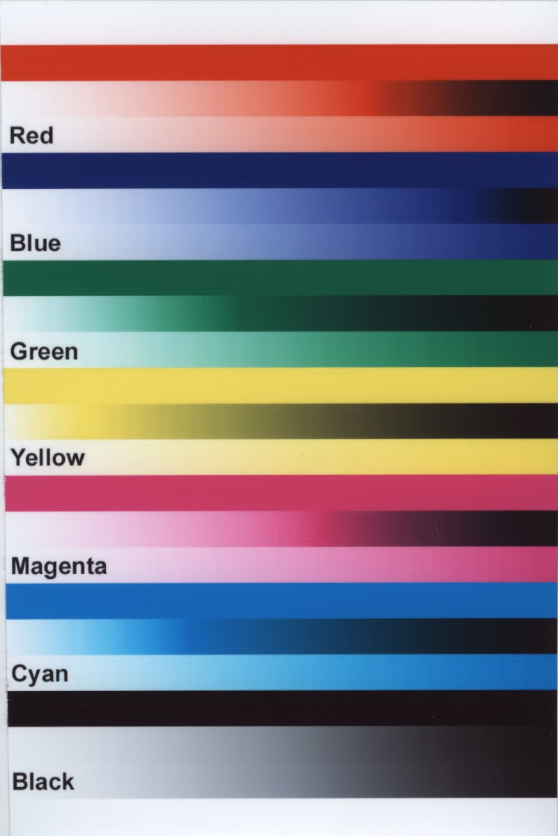 Print Test Page Color U200bimg Gold Cmyk Color Chart Related