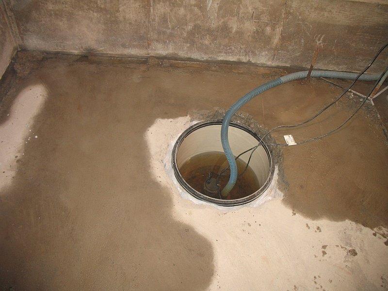 basement sump pit