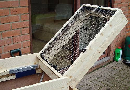 Sieve Screen Shaker For Soil And Compost Nifty Stuff Com