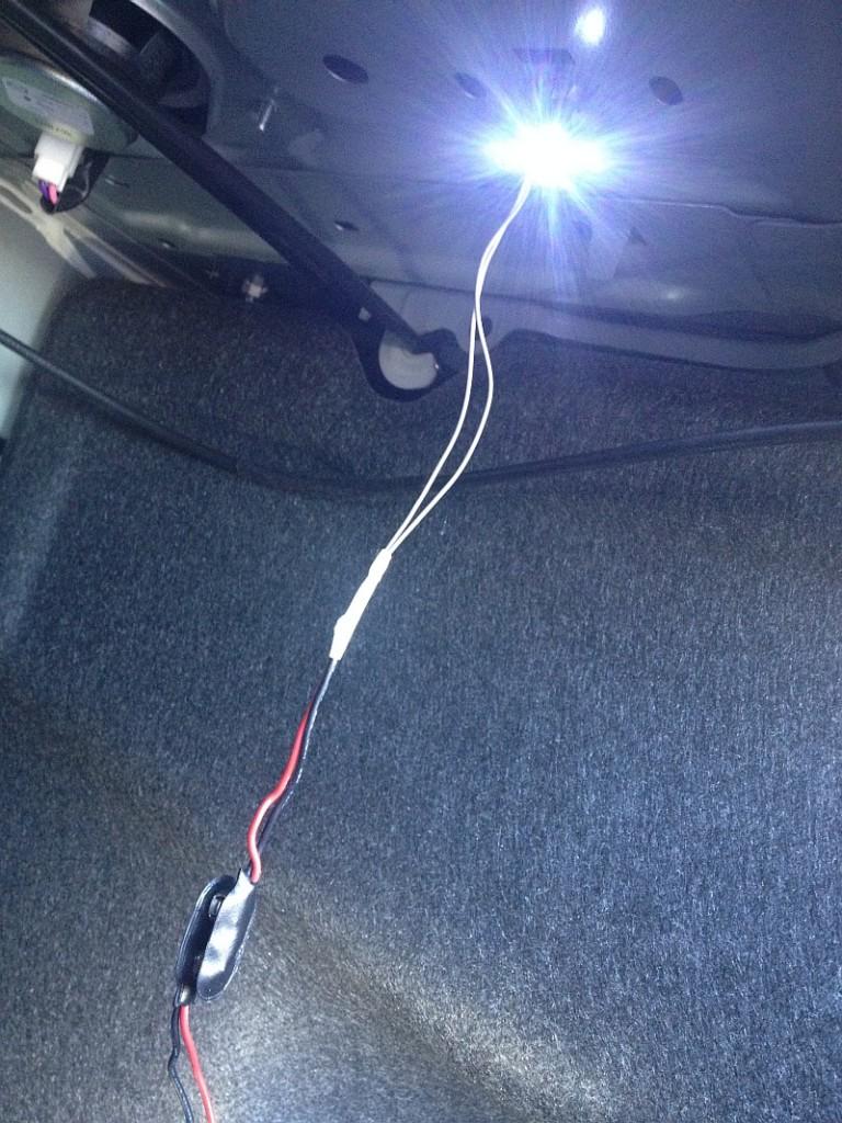 Trunk LED Strip Lighting - Wire Gauge Problem? Will It Burn?